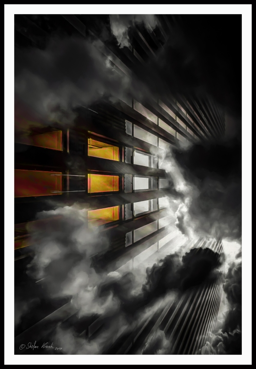 clouds and architecture m Rahmen